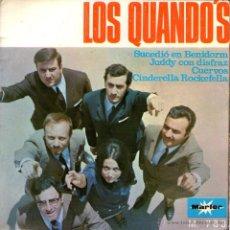 """Discos de vinilo: LOS QUANDO'S - EP VINILO 7"""" - EDITADO EN ESPAÑA - SUCEDIÓ EN BENIDORM + 3 - MARFER - AÑO 1968. Lote 45469826"""