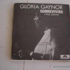 Discos de vinilo: GLORIA GAYNOR I WILL SURVIVE SOBREVIVIRE. Lote 45469886