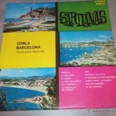 Discos de vinilo: COBLA BARCELONA - SARDANAS - PALOBAL - IBEROFON - 1967 - LP. Lote 45470629