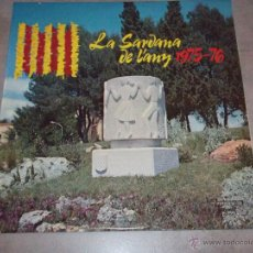 Discos de vinilo: LA SARDANA DE L'ANY 1975-76 - COBLA CIUTAT DE GIRONA- COBLA CIUTAT DE BARCELONA - OLYMPO 1976 - LP. Lote 45470803