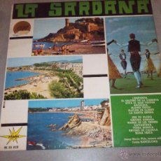 Discos de vinilo: LA SARDANA - COBLA BARCELONA, JOSEP MARIA PLA - MARFER 1966 - LP. Lote 45470981