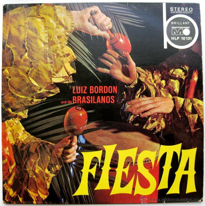 LUIS BORDÓN UND DIE BRASILIANOS - FIESTA - LP METRONOME 1967 GERMANY BPY (Música - Discos - LP Vinilo - Étnicas y Músicas del Mundo)
