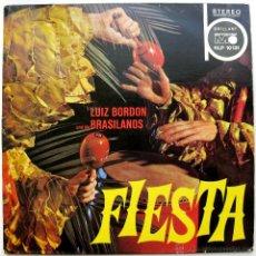 Discos de vinilo: LUIS BORDÓN UND DIE BRASILIANOS - FIESTA - LP METRONOME 1967 GERMANY BPY. Lote 183388798