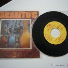Discos de vinilo: SINGLE TARANTO'S DANZA DEL MATADOR PEKENIKES PASOS MEDINA AZAHARA TRIANA ANDALUZ GUALBERTO LONE STAR. Lote 45474535