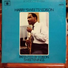 Discos de vinilo: HARRY SWEETS EDISON, PATENTED BY / SWEETENINGS ( MARFER 1981) 2 X LP ESPAÑA TOMMY FLANAGAN. Lote 45474715