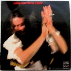 Discos de vinilo: LOS AMIGOS ALEGRES (ORQUESTA LUIS AMERO) - LATIN AMERICAN MUSIC - LP OLYMPIC RECORDS HOLANDA BPY. Lote 45478263