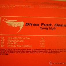 Discos de vinilo: MAXI LP. BFREE. FLYING HIGH. Lote 45479389