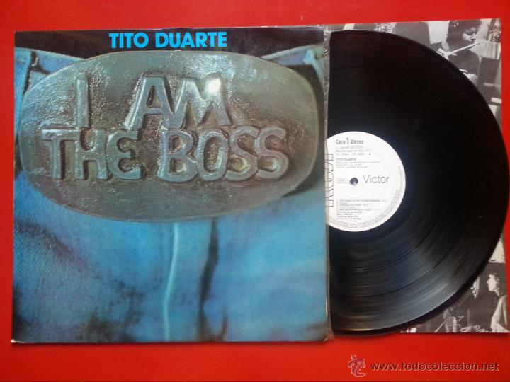 48ff1b1b TITO DUARTE - I Am The Boss - LP 1979 RCA SPANISH PROMO (EX-/EX+) LATIN JAZZ