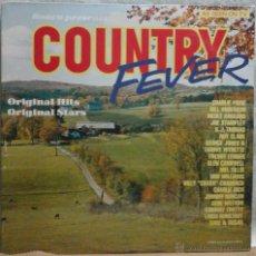 Discos de vinilo: COUNTRY FEVER LP. Lote 45486818