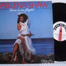 Discos de vinilo: MARLENA SHAW - '' LOVE IS IN FLIGHT '' VINYL LP ORIGINAL UK. Lote 45487372