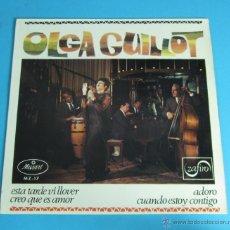 Discos de vinilo: OLGA GUILLOT. ZAFIRO. Lote 45487553