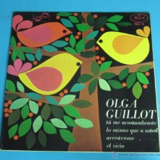 Discos de vinilo: OLGA GUILLOT. ZAFIRO. Lote 45487615