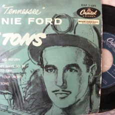 Discos de vinilo: ERNIE FORD TENNESSEE -16 TONS -EP. Lote 45487761