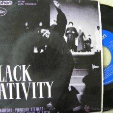 Discos de vinilo: BLACK NATIVITY -EP 1963. Lote 45487881