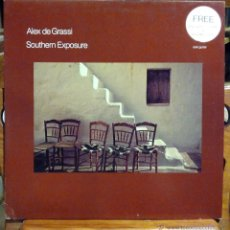 Discos de vinilo: ALEX DE GRASSI, SOUTHERN EXPOSURE (WINDHAM HILL 1983) LP ALEMANIA - ENCARTE. Lote 45489032