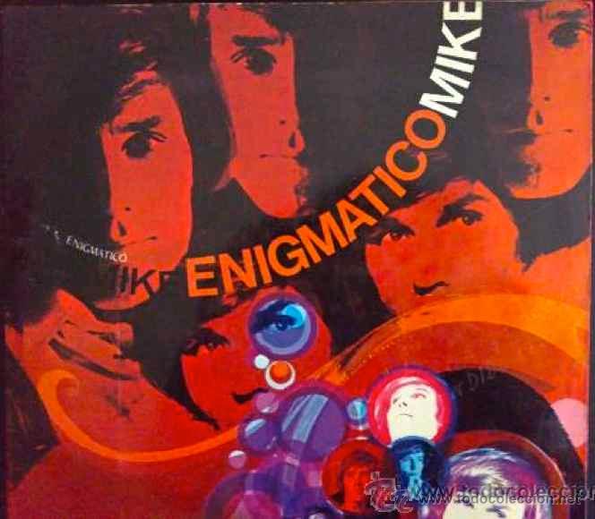 LOS BRAVOS, MIKE KENNEDY. ENIGMÁTICO MIKE- LP ORIGINAL ESPAÑA (Música - Discos - LP Vinilo - Solistas Españoles de los 50 y 60)