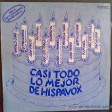 Discos de vinilo: ALASKA Y LOS PEGAMOIDES, PROMO CON VARIOS ARTISTAS - LP EXCLUSIVAMENTE PROMOCIONAL DE HISPAVOX. Lote 26687612