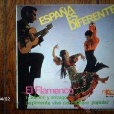 Discos de vinilo: ALFONSO Y MANUEL LABRADOR Y SU GRUPO FLAMENCO - ESPAÑA ES DIFERENTE - EL FLAMENCO TRADICIÓN Y . Lote 45491713