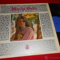 Discos de vinilo: MARIA OSTIZ LP 1967 HISPAVOX. Lote 45495268