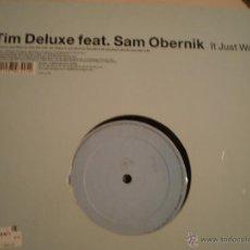 Disques de vinyle: MAXI LP. TIM DELUXE. IT JUST WONT DO. Lote 45497441