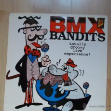 Discos de vinilo: BMX BANDITS - TOTALLY GROOVY LIVE EXPERIENCE - 1989 -APT RECORDS ENGLAND. Lote 45498729