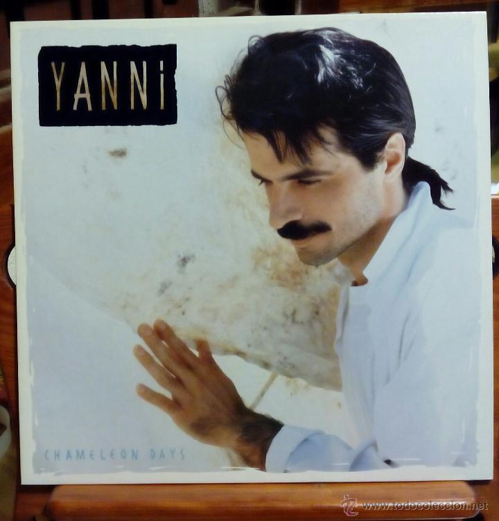 YANNI, CHAMELEON DAYS (PRIVATE 1988) LP ALEMANIA