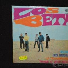 Discos de vinilo: LOS BETA - MUNDO + 3 - EP. Lote 45507819