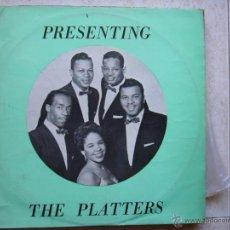 Discos de vinilo: THE PLATTERS - PRESENTING. Lote 45516195