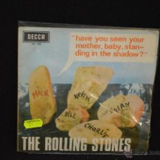 Discos de vinilo: THE ROLLING STONES - HAVE YOU SEEN YOUR MOTHER + 1 - SINGLE. Lote 45516921