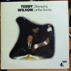 Discos de vinilo: TEDDY WILSON, STOMPING AT THE SAVOY (BLACK LION 1971) LP FRANCIA PORTADA CARTON DAVE SHEPHERD. Lote 45518561