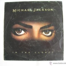 Discos de vinilo: MICHAEL JACKSON // IN THE CLOSET // PROMOCIONAL SOLO UNA CARA // LEER DESCRIPCION. Lote 45541600