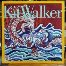 Discos de vinilo: KIT WALKER, FIRE IN THE LAKE (WINDHAM HILL 1989) LP USA - ENCARTE - PAUL MCCANDLESS. Lote 45541715