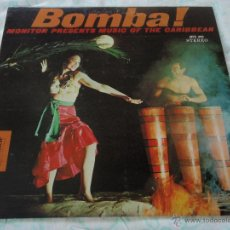 Disques de vinyle: BOMBA! ' MUSIC OF THE CARIBBEAN ' USA LP33 MONITOR. Lote 9290347