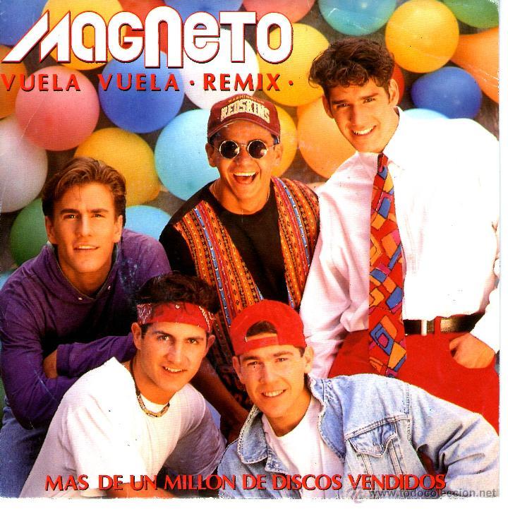 MAGNETO – VUELA, VUELA (REMIX) - SINGLE PROMO SPAIN 1992 (Música - Discos - Singles Vinilo - Grupos y Solistas de latinoamérica)