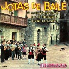Discos de vinilo: JOTAS DE BAILE - ALCAÑIZ, CALANDA, ALBALATE... EP 1963. Lote 45543775