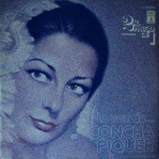 Discos de vinilo: CONCHA PIQUER - LA VOZ DE... - EDICIÓN DE 1976 DE ESPAÑA - DOBLE. Lote 45545920