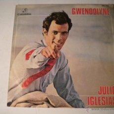 Discos de vinilo: JULIO IGLESIAS - GWENDOLYNE - COLUMBIA 1.970. Lote 45550988