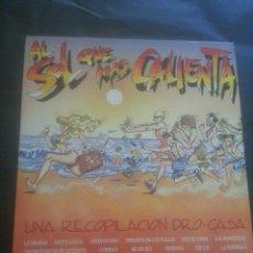 Discos de vinilo: AL SOL QUE MAS CALIENTA 1988 - RECOPILATORIO. Lote 45554884