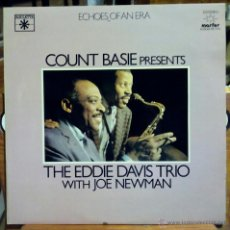 Discos de vinilo: COUNT BASIE PRESENTS THE EDDIE DAVIS TRIO WITH JOE NEWMAN (MARFER 1981) 2 X LP ESPAÑA. Lote 45557250