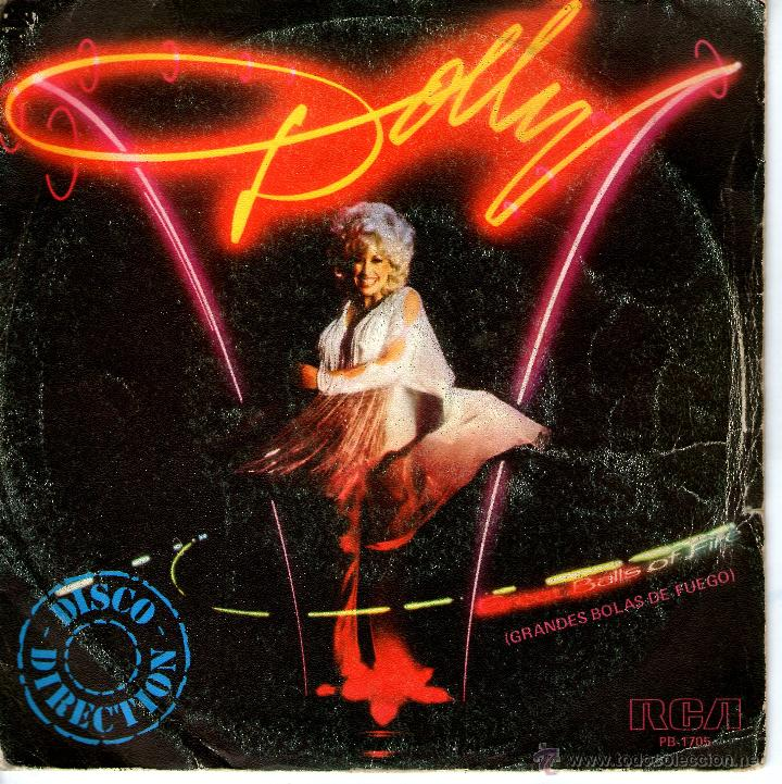 DOLLY PARTON -GREAT BALLS OF FIRE (Música - Discos - Singles Vinilo - Country y Folk)