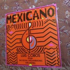 Discos de vinilo: LP DE VINILO DE LUIS COBOS- TITULO MEXICANO- ORIGINAL DEL 84- ¡¡¡¡NUEVO A ESTRENAR¡¡¡¡. Lote 45557797