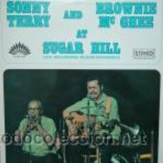 Discos de vinilo: SONNY TERRY AND BROWNIE MC GHEE - AT SUGAR HILL. Lote 45566754