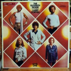 Discos de vinilo: LARRY CORYELL, THE ELEVENTH HOUSE (EMI 1975) LP ESPAÑA STEVE KHAN MOUZON. Lote 45572399