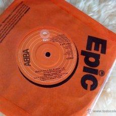 Discos de vinilo: SINGLE VINILO - ABBA - SUMMER NIGHT CITY + MEDLEY PICK A BALE OF COTTON. Lote 45573015