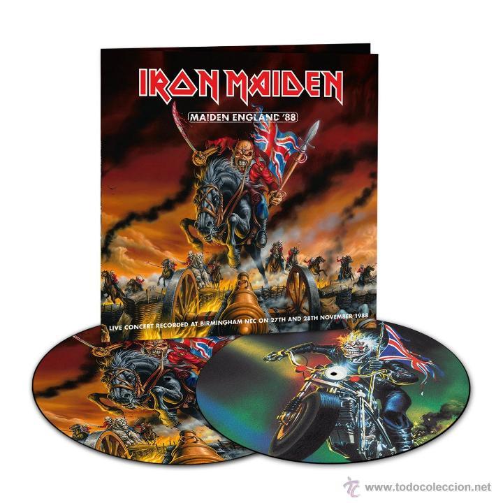 2LP IRON MAIDEN MAIDEN ENGLAND 88 VINILO PICTURE DISC HEAVY METAL (Música - Discos - LP Vinilo - Heavy - Metal)
