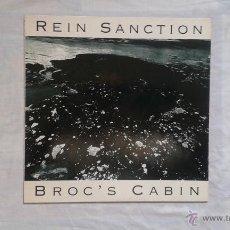 Discos de vinilo: REIN SANCTION - BROC´S CABIN LP 1991 ROCK ALTERNATIVO. Lote 45574974