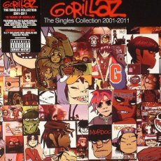 Discos de vinilo: CAJA DE 8 SINGLES BOX GORILLAZ THE SINGLES COLLECTION 2001-2011 VINILO BLUR. Lote 45576461