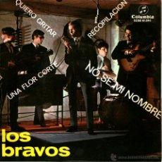 Discos de vinilo: LOS BRAVOS - NO SE MI NOMBRE. Lote 45576489
