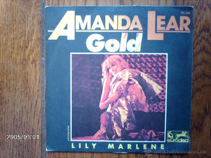 AMANDA LEAR - GOLD + LILY MARLENE (Música - Discos - Singles Vinilo - Pop - Rock - Internacional de los 70)