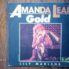 Discos de vinilo: AMANDA LEAR - GOLD + LILY MARLENE . Lote 45582316